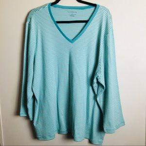 Liz Claiborne Supima cotton shirt 3XL M17